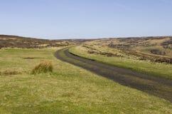 Rosedale järnvägsspår. North Yorkshire heder Royaltyfri Foto