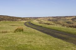 Rosedale Railway Track. North Yorkshire Moors Royalty Free Stock Photo