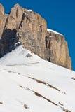 Rosegarten mountain in tirol. In winter Royalty Free Stock Photography