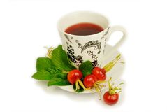 rosehip herbata Zdjęcie Royalty Free