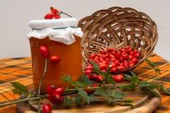 Rosehip marmalade. Stock Images