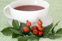 Rosehip tea cup Royalty Free Stock Photos