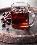 Rosehip tea stock images
