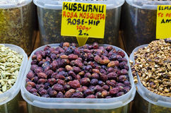 Rosehip tea in Egyptian Spice Bazaar Stock Photo