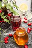 Rosehip tea Stock Photos