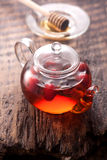 Rosehip tea. And honey, vertical Stock Photography