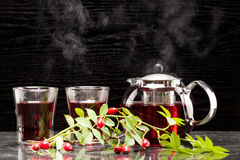 Rosehip tea Royalty Free Stock Images