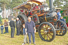 Roseisle steam Traction Engine Rally Stock Photo