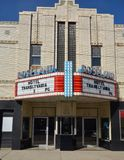 Roselandtheater stock foto