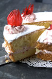 Rosella or Roselle Cake Royalty Free Stock Images