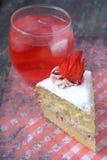 Rosella or Roselle Cake Royalty Free Stock Photo