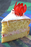 Rosella or Roselle Cake Stock Photography