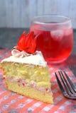 Rosella or Roselle Cake Stock Photos
