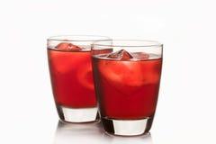Roselle汁液,泰国草本软饮料 库存图片