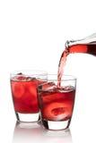 Roselle汁液,泰国草本软饮料 免版税库存图片