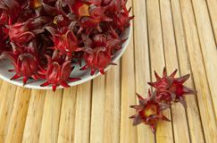 Roselle fruits Royalty Free Stock Photo