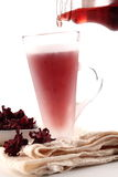 Roselle juice Stock Image
