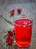 Roselle Juice Fotografia Stock