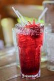 Roselle juice Stock Photo