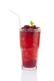 Roselle mocktail drink Stock Photos