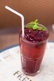 Roselle mocktail drink Stock Image
