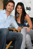 Roselyn Sanchez, Eric Winter stockfotos