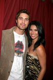 Roselyn Sanchez,Eric Winter Stock Image