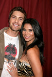 Roselyn Sanchez,Eric Winter Royalty Free Stock Image