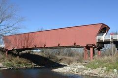 Roseman被遮盖的桥 免版税库存图片