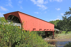 Roseman Bridge over Middle River Royalty Free Stock Photography