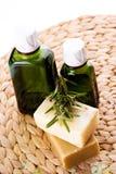 rosemary масла органический Стоковое фото RF