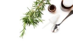 rosemary масла Стоковое Изображение RF