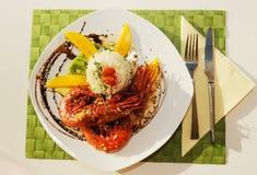 rosemary плодоовощ crawfish Стоковые Изображения