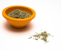 Rosemary in Bowl Stock Images