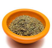 Rosemary in Bowl Royalty Free Stock Image