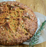 Rosemary Bread Loaf Imágenes de archivo libres de regalías