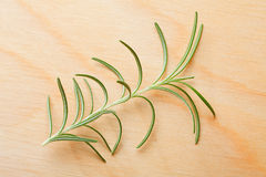 Rosemary on chopping board background Royalty Free Stock Image
