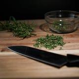 Rosemary coupée fraîche Image stock