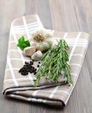 Rosemary et condiment photos stock