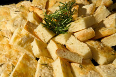 Rosemary focaccia Royalty Free Stock Photo