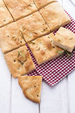 Rosemary Focaccia Royalty Free Stock Photos