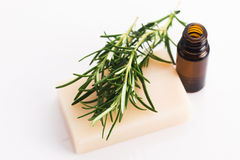 Rosemary Handmade Soap Stock Images
