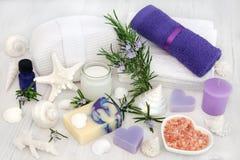 Rosemary Herb Aromatherapy Spa Στοκ φωτογραφία με δικαίωμα ελεύθερης χρήσης