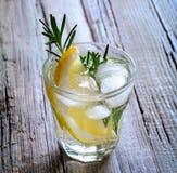 Rosemary and lemon soda Royalty Free Stock Photography