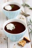 rosemary mousse шоколада Стоковое Изображение