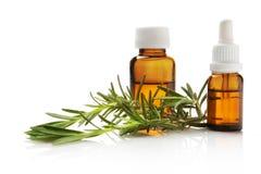 Rosemary oil stock photos