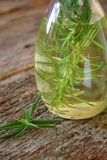 Rosemary and Oil Royalty Free Stock Photos