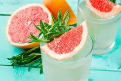 Rosemary, pamplemousse et Gin Cocktail photographie stock libre de droits