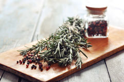 Rosemary and pepper Royalty Free Stock Photography