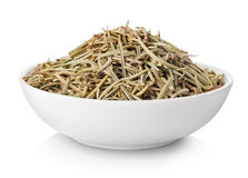 Rosemary in plate Royalty Free Stock Photos